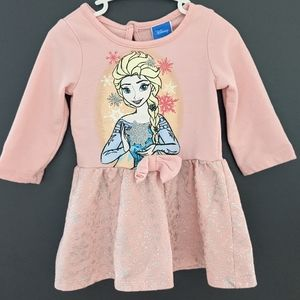 Disney Frozen pink Elsa dress
